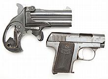 1 Spanish Subcompact Pistol & 1 German Derringer