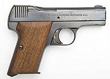 Becker & Hollander Beholla Pistol - 7.65mm Cal.