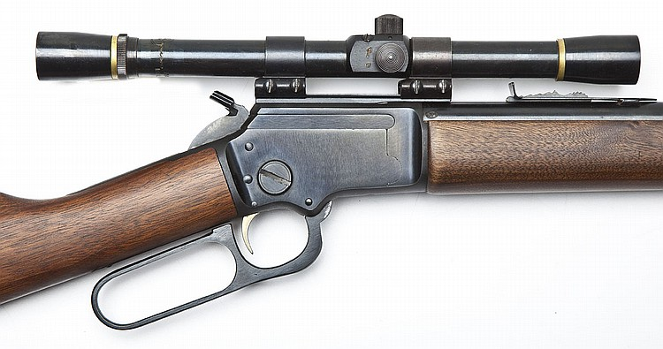 Sold Price: Marlin Golden 39A Mountie Rifle - .22 Cal