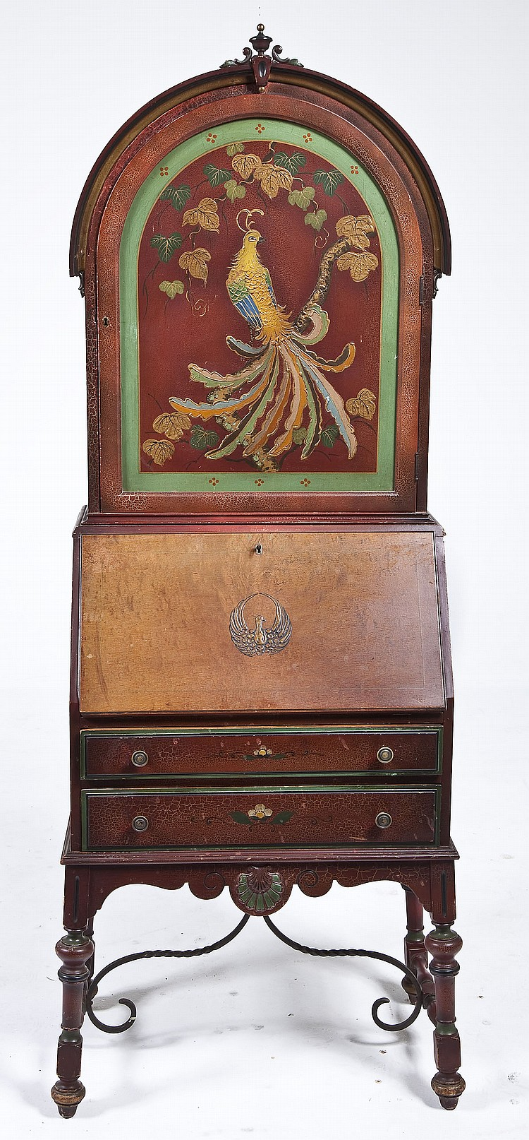 Mechanics Furniture Peacock Secretary