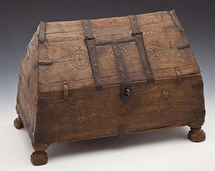 Northern Medieval Wooden Box