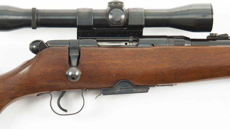 Savage Model 340D Cal  222 REM Rifle W/ Scope