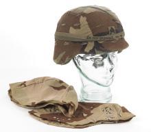 PASGT M-5 Kevlar Helmet W/ Woodland Cover