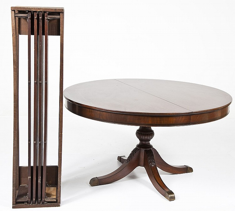 Federal Style Extension Dining Room Table
