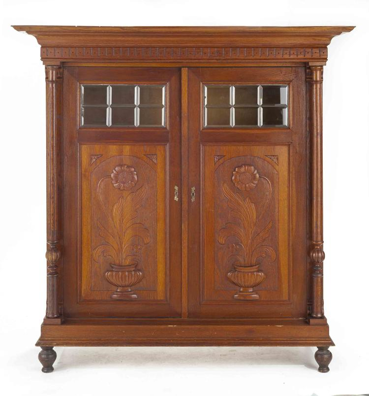 Aesthetic Movement Continental Cabinet