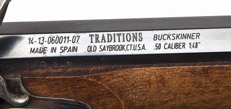 Traditions Buck Skinner Flintlock -  50 Cal