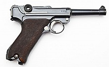 DWM Double Dated Unit Marked Luger - 9mm Cal.