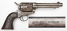 Sheriff Dillingham Marked Colt SA Army & Ensemble