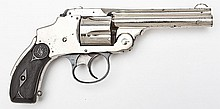 S&W; Safety Hammerless Third Model - .38 S