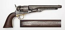 General James Barnes Inscribed 1860 Army Revolver