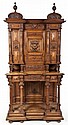 Continental Carved Cupboard