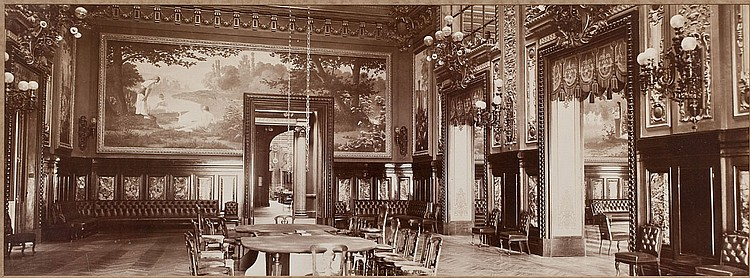 19th c photograph monte carlo salle de jeu. Black Bedroom Furniture Sets. Home Design Ideas
