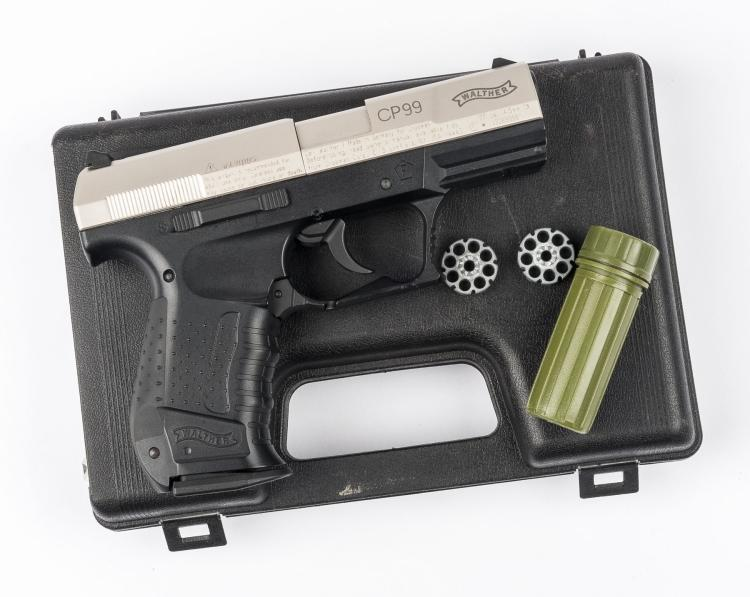 Walther CP99 Nickel  177 CO2 Air Pistol