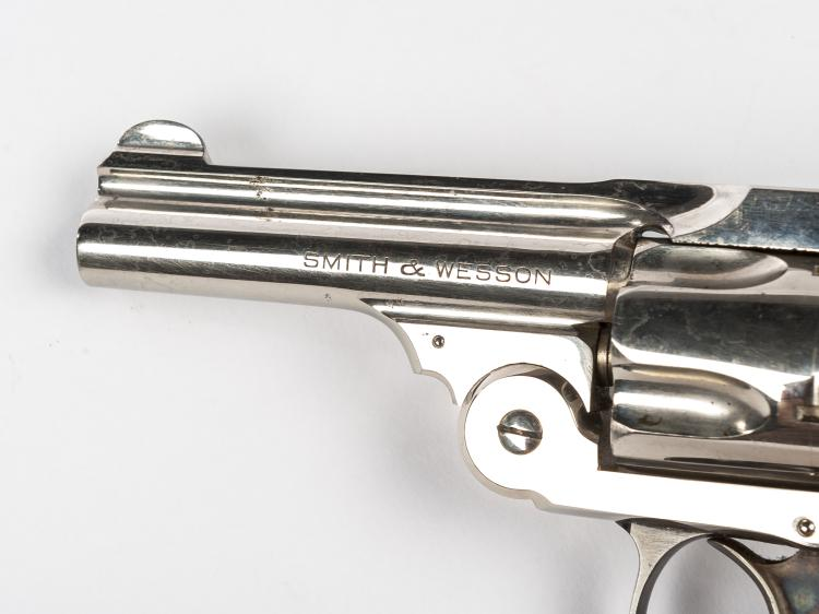 S&W  38 Safety Hammerless 5th Model -  38 S&W