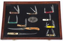 North American Fishing Club Knife Display