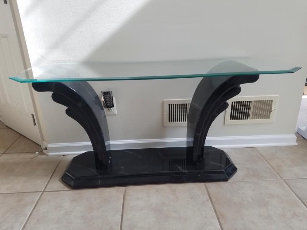 Fantastic Glass Top Deco Sofa Table Ibusinesslaw Wood Chair Design Ideas Ibusinesslaworg