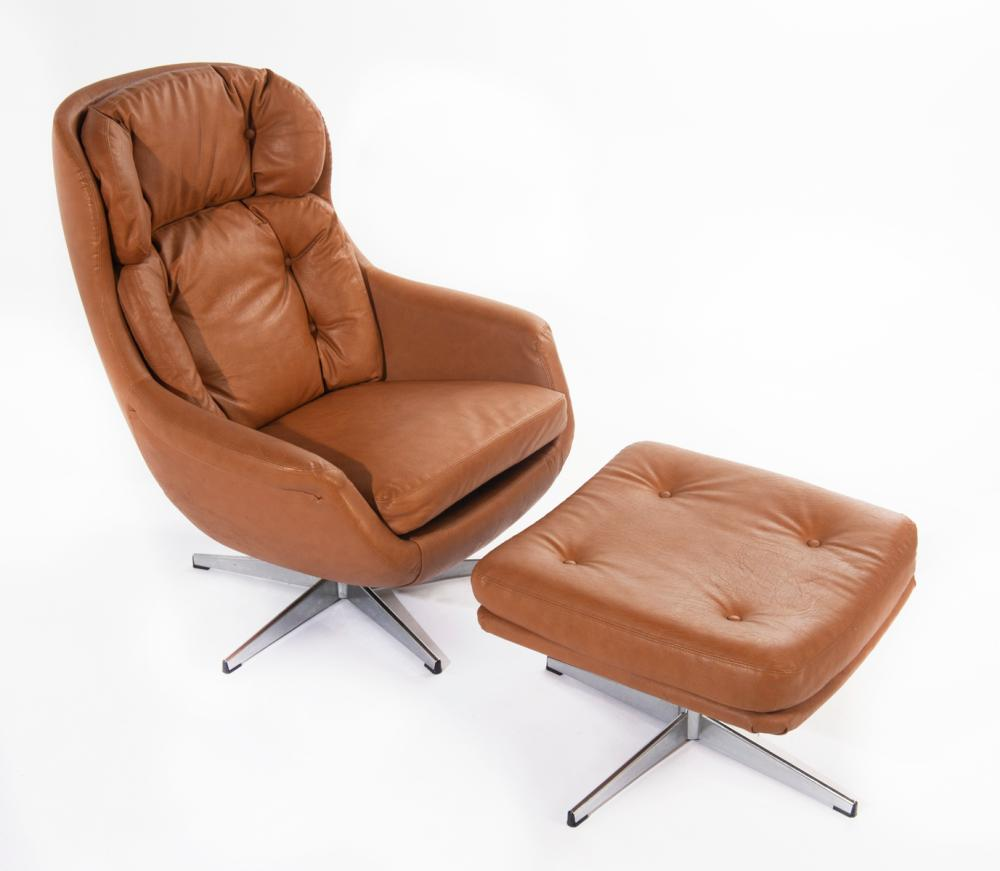 Superb Selig Lounge Chair With Ottoman Download Free Architecture Designs Scobabritishbridgeorg