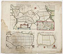 1664 Map of Waterland, Purmer, Bylmer J. Blaeu