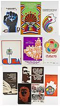 Group of 11 Latino American and Cuban Posters