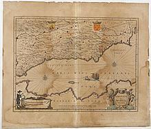 1634 Granata Et Murcia Regna W.J. Blaeu