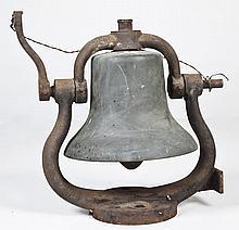British Brass Railroad Bell