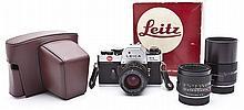 Leica R3 Camera Outfit w/Summilux-R 1:1.4/50 Lens