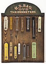 Hibbard Spencer Bartlett Adv Thermometer Display