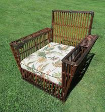 Stick Wicker Armchair #3780