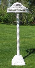 Bar Harbor Wicker Floor Lamp #1548