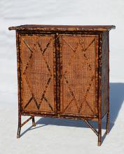 Bamboo Double Door Cabinet #8032