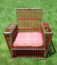 Stick Wicker Armchair #3723