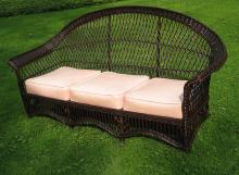 Bar Harbor Wicker Sofa #8664
