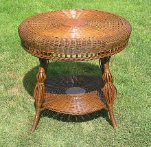 Victorian Wicker Table #1351