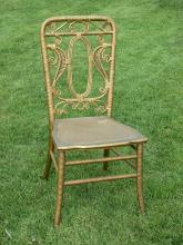 Victorian Wicker Side Chair #3744