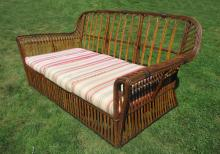 Stick Wicker Sofa #8784