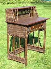 Mission Wicker Desk/Dressing Table #1304