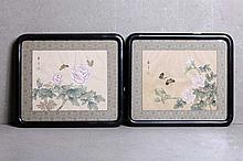 TWO ORIENTAL PAINTINGS
