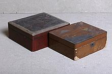 TWO ORIENTAL BOXES