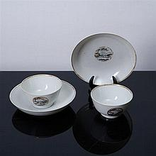 PAIR OF BOWL WITH SAUCER