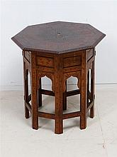 INDIAN OCTOGONAL TABLE