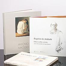 EDUARDA LAPA, ANTÓNIO DE MACEDO E EUGÉNIO DE ANDRADE