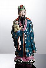 FIGURE OF IMMORTAL WITH BOY