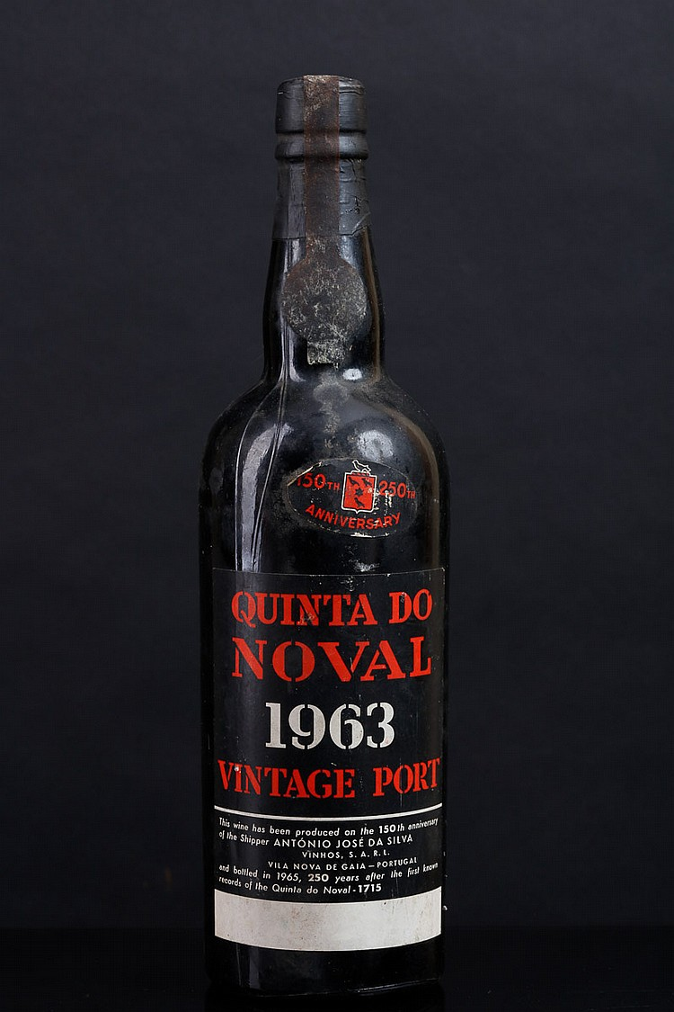 vintage port wine bottle quotquinta do novalquot