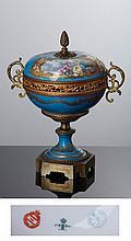 SÈVRES - CUP WITH A LID