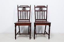 PAIR OF CHINESE CHAIR
