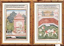 TWO INDIAN PAINTINGS