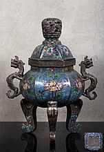 CHINESE INCENSE BURNER
