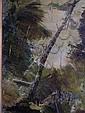 Oil on board Ubaldo Magnavacca (1885-1957) Tree in, Ubaldo Magnavacca, Click for value