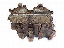 c1935 AJS cylinder head & rocker box