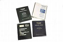 Triumph workshop and service manuals